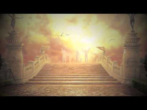 A Vision of Entering Heaven- ( from The Bridge of Triumph painting)