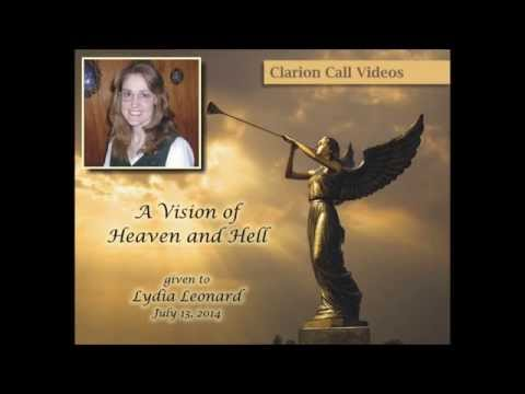 Vision of Heaven and Hell given to Lydia Leonard July 2014