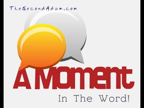 A Moment In The Word – Matthew 1:18-22 with Wayne Sutton