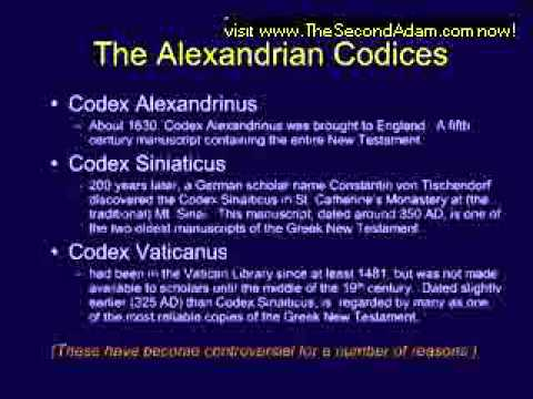 AUTHENTICITY CODES OF THE GREEK TEXTS USED BY KJV BIBLE – CHUCK MISSLER – PART1