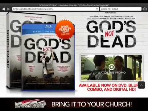 Gods Not Dead –   Review