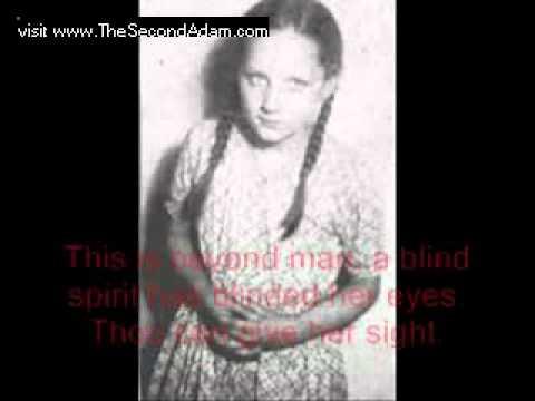 Look! William Branham prays for blind girl – miraculous healing