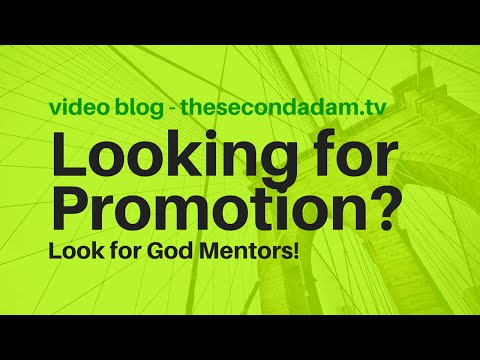 Looking for Promotion? Why God Mentors Matter! Insight 50 online church