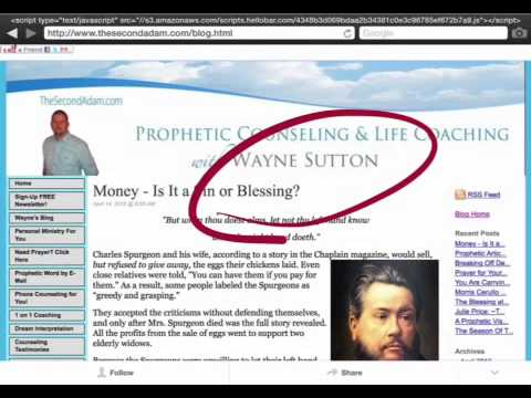 Money- a sin or blessing? Prophetic Article
