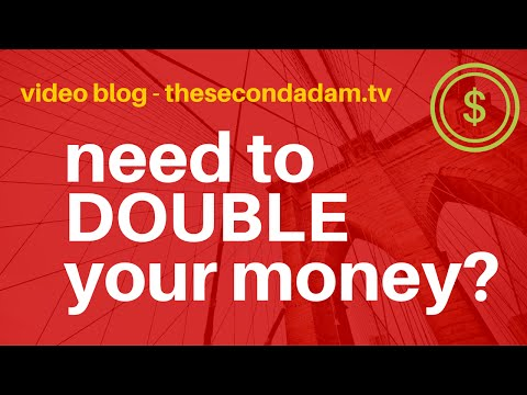 Need To Double Your Money? Here Is THE Key… Insight 49 video blog
