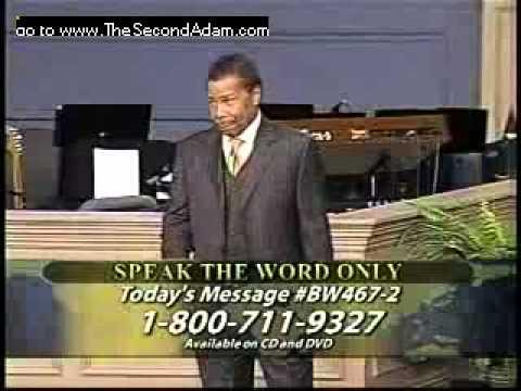 Pastor Bill Winston – Speak the Word Only (1)