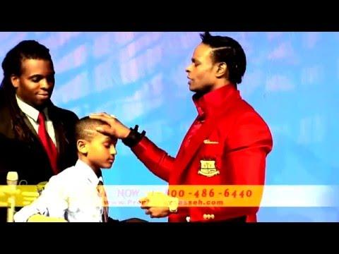 Prophet Manasseh Jordan   'Must see' 8 year old receives Prophetic Anointing