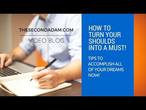 Turning Your Shoulds Into A Must – insight video blog – online church