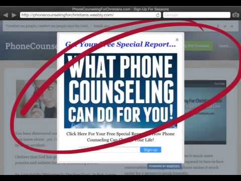 phone counseling