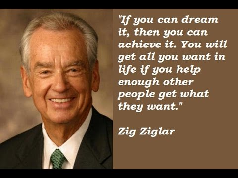 Zig Ziglar – 5 step selling tips and how trust is so very important today!