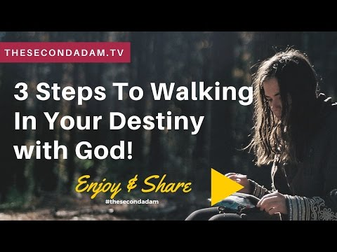 3 Steps To Walking In Your Destiny with God! Online Prophetic church with Wayne Sutton