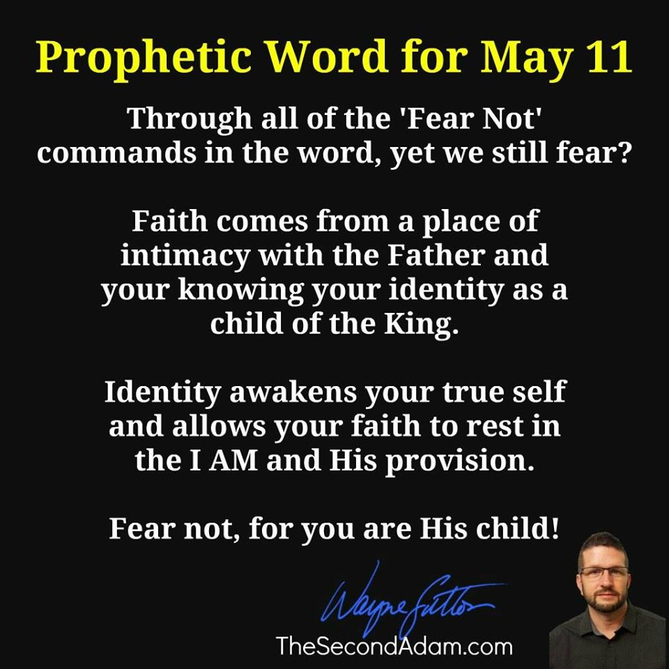 may 11 prophecy
