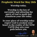 may 28 prophecy