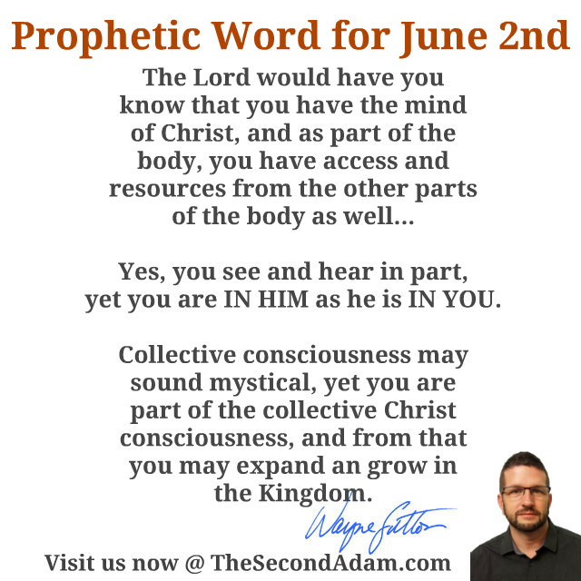 June 2 Prophecy