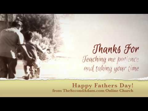 A Letter to Dad – Happy Fathers Day from Online Church!