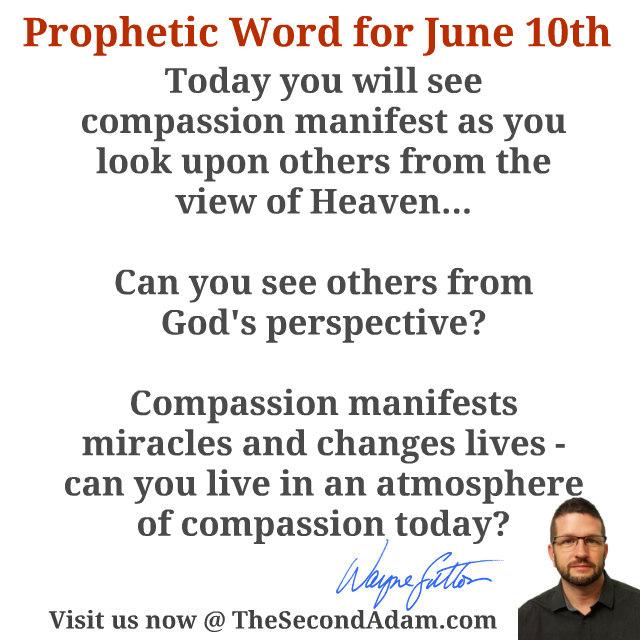 june 10 prophecy