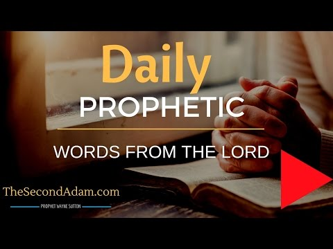 June 24 Daily Prophetic Word – Word from the Lord