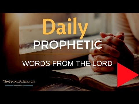Receive Your Daily Prophetic Words