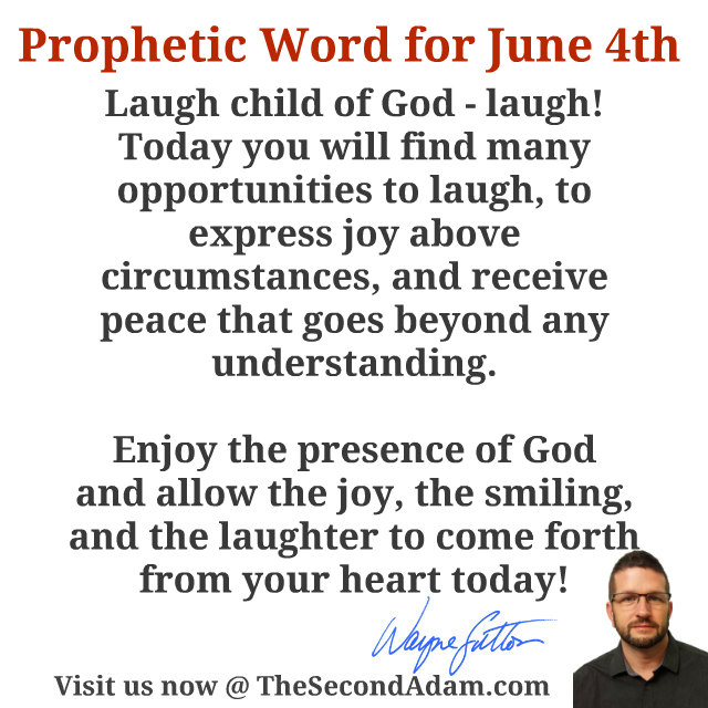 june 4 daily prophecy