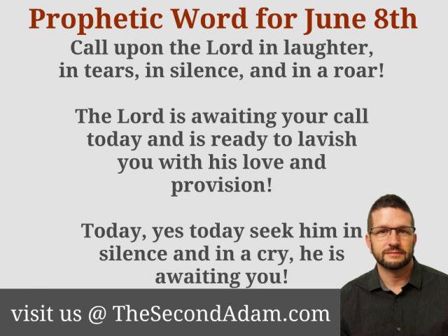june 8 prophetic word