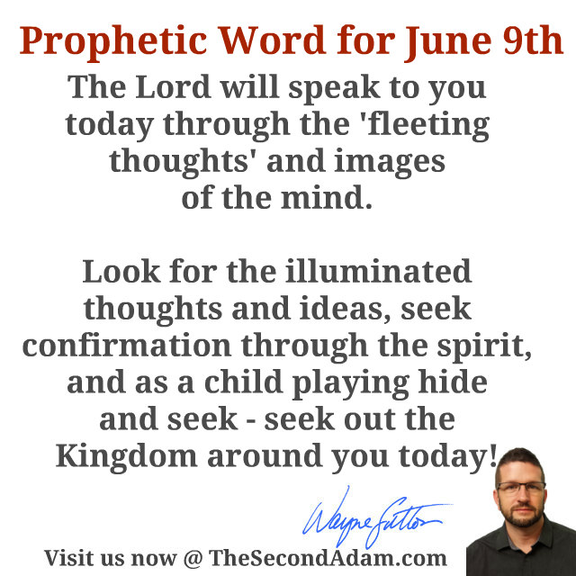 june 9th prophecy word
