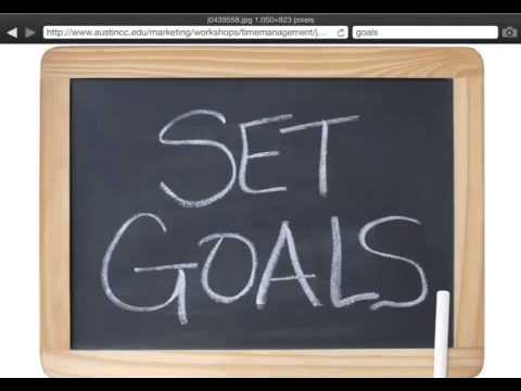 Beyond Goal Setting In Your Life! How You Can Set Goals That Work.