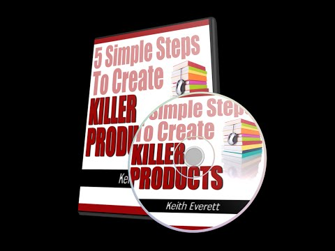 Information Product Creation Part 2 of 5 – How to Find Product Ideas – ProsperWithWayne