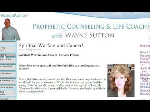 Spiritual Warfare and Cancer – Prophetic Word