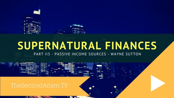 supernatural finances IIi