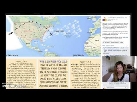 04/05/15 VISION FROM JESUS- BOMB CAUSES TSUNAMIS Rec #12