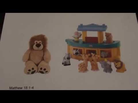 June 27, Vision from Jesus, Lion and Noah's Ark