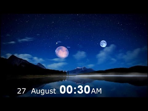 VISION OF THE 2 MOONS AT THE END TIMES, JESUS IS COMING