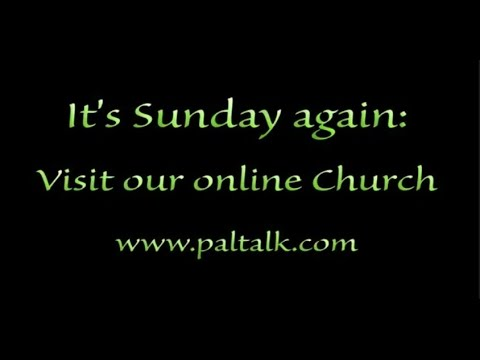 """Live Online Church and Bible Study"""