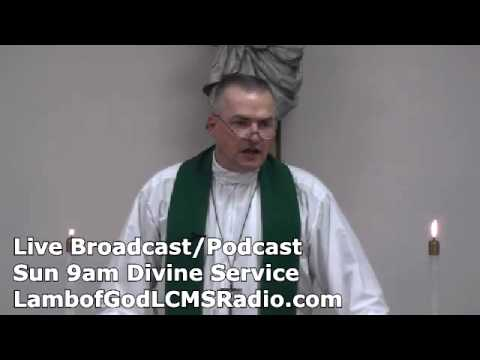 Lutheran Church Services Online | Sermon June 30 2013