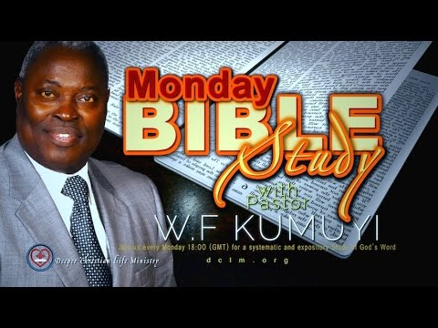 Monday Bible Study (Dec., 12, 2016)