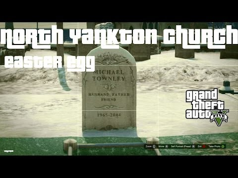 NORTH YANKTON GRAVEYARD/CHURCH EASTER EGG – GTA Online (GTA 5)