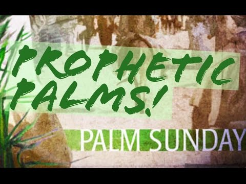Prophetic Palm Trees? Palm Sunday Sermon Online Church with Pastor Wayne Sutton