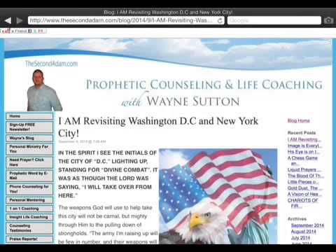 Prophetic Word for Washington CD and New York City! Bill Yount Prophecy