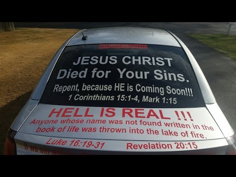 RAPTURE VISION – JESUS CAR ABANDONED!!!