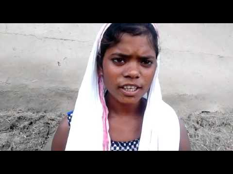 Santali girl seeing vision of JESUS