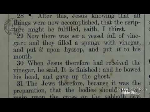 The Gospel Of John: A Verse-By-Verse King James Bible Study
