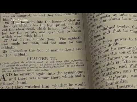 The Gospel Of Mark: A Verse-By-Verse King James Bible Study