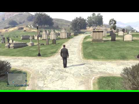 Xbox 360 GTA V online church funeral