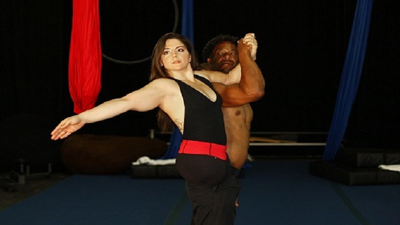 Woman Born Without Legs Turns Into A World Class Aerial Performer! WOW!