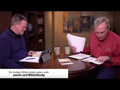 Live Bible Study with Andrew Wommack & Gary Luecke – March 28th, 2017