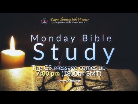 Monday Bible Study (03 April, 2017)