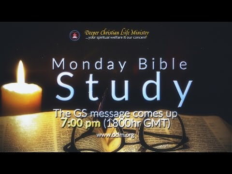 Monday Bible Study (17 April, 2017)