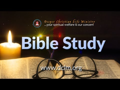 Monday Bible Study (12th June, 2017)