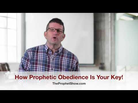 Prophetic Obedience Is Your Key – Prophet Show #095
