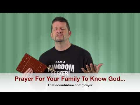 Prayer For Your Family To Get Saved! Kingdom Seekers #161